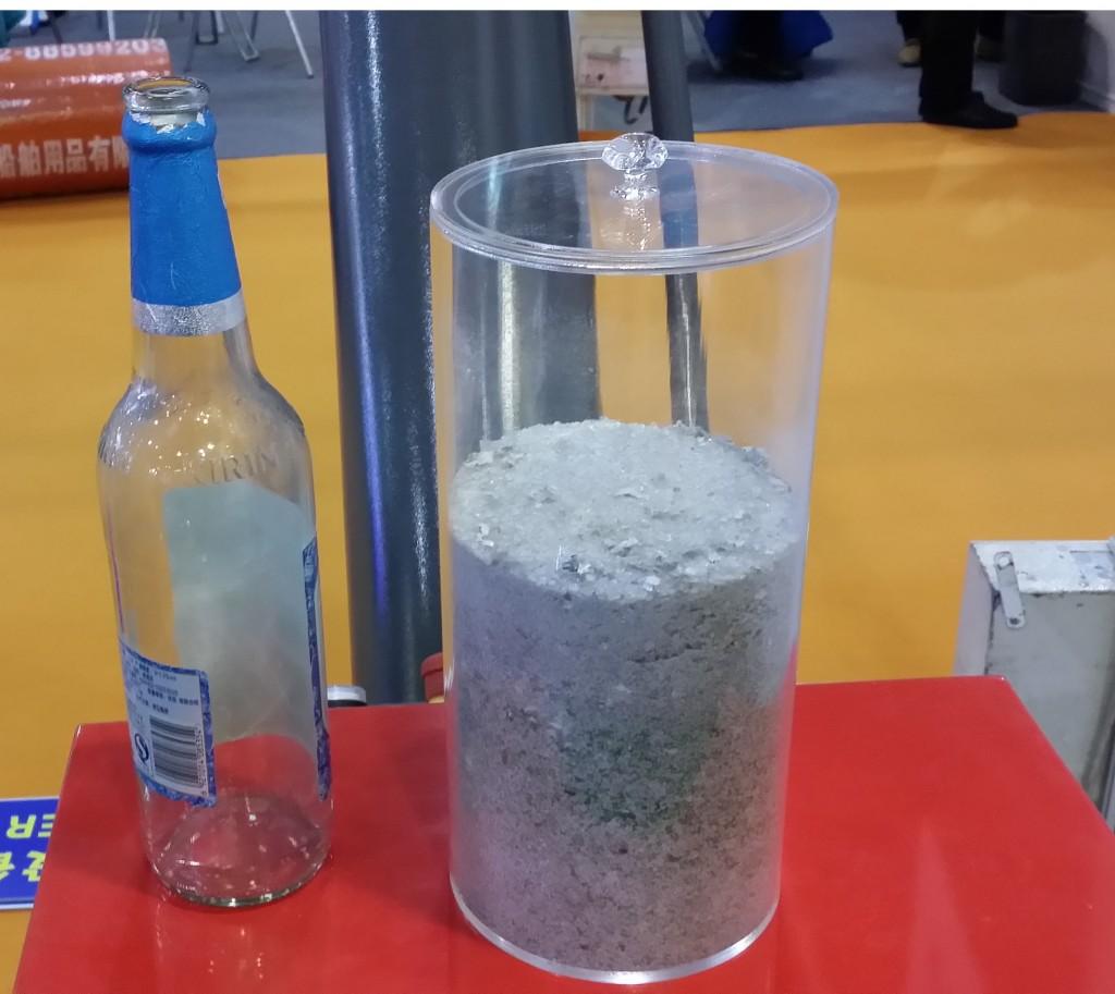 Maine glass bottle crusher GB101